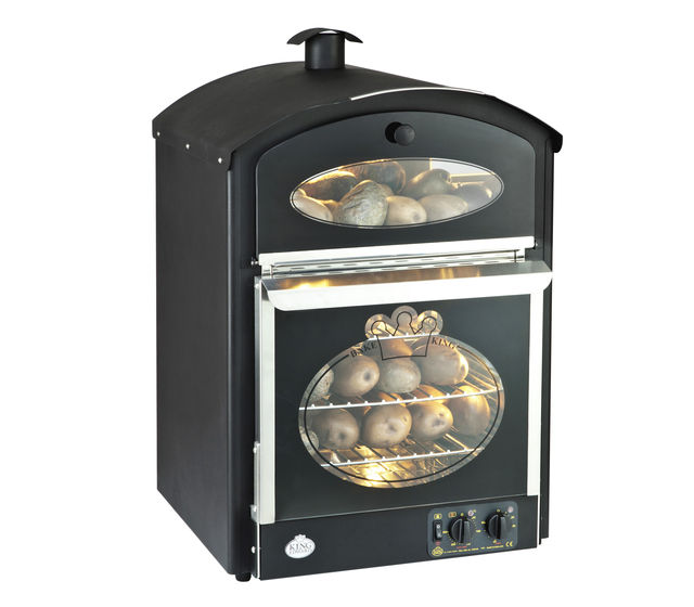 Bake-King oven in black enamel