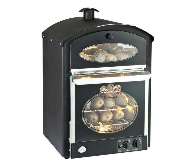 Bake-King oven in black