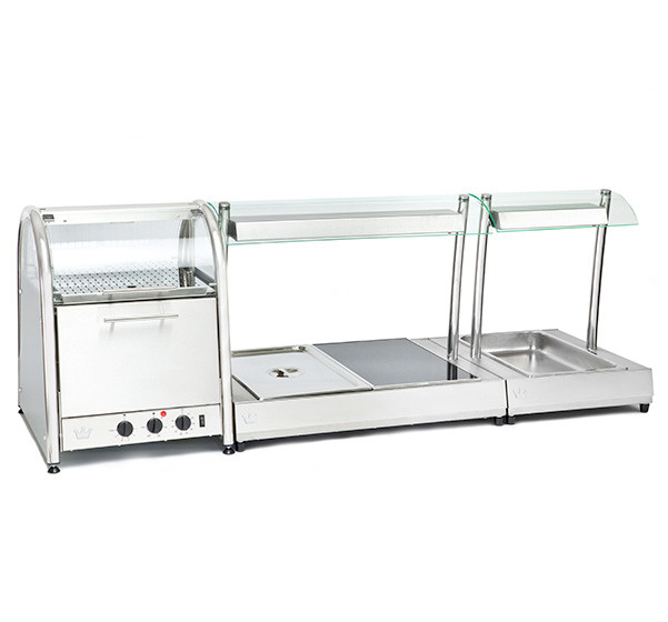 Vista 60 Bake & Display Oven with Vista Bain Marie