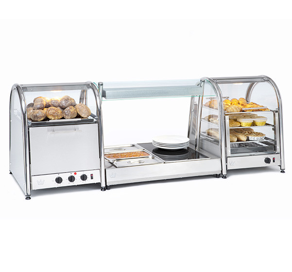 Vista 60 Bake & Display Oven with Large Vista Bain Marie
