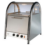 Vista 60 Bake & Display Oven in stainless steel