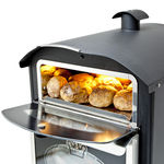 Bake King Mini oven with top open