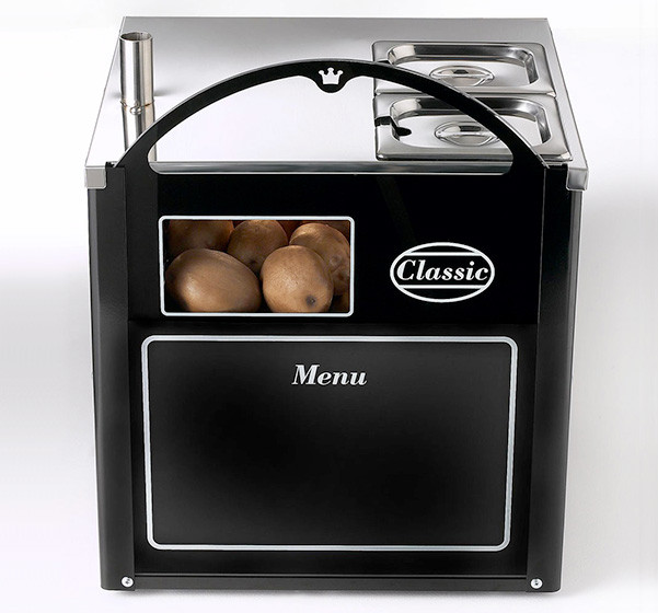 Rear of Classic Compact Potato Oven