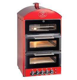 Double Pizza Oven with Warmer PK2W