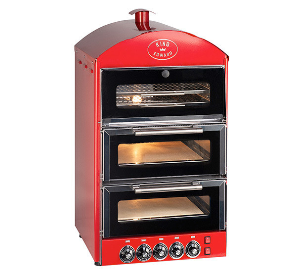 Double Pizza Oven with Warmer PK2W-product-img-1