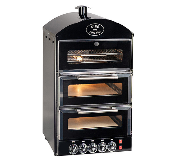 Double Pizza Oven with Warmer PK2W-product-img-2