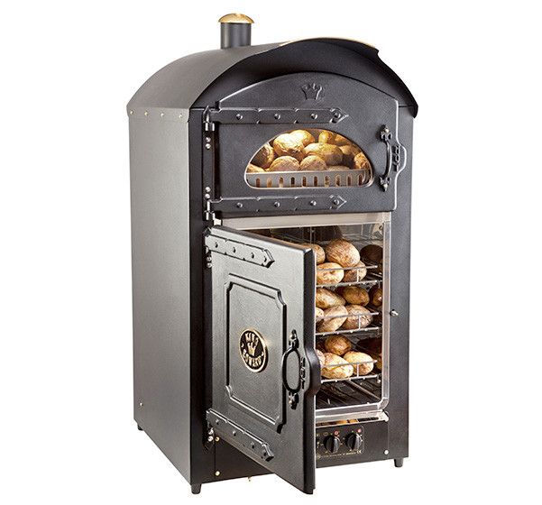 Front of Majesty Potato Baker with door open
